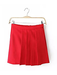 Women's Casual Saucy Pleated Skirt Mini Short Skirts Juniors Skirts Tennis