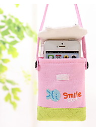 Happy Cat Cotton Mobile Phone Bag