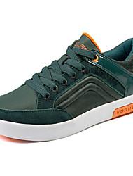 Scarpe da uomo Tempo libero Sintetico Sneakers alla moda Blu/Verde
