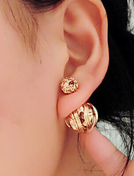 """New Arrival Hot Selling High Quality Hollow Ball Earrings"""