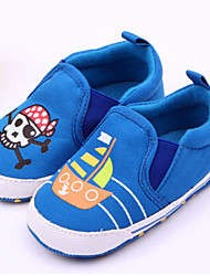 Baby Shoes Casual Fabric Loafers Blue
