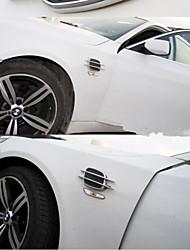 abs auto universale adesivi styling cromo simulazione sfoga decorativi branchie di squalo allungati spacchetti laterali outlet