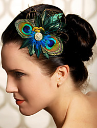 Hand Made Wedding Feather Hair Clip Fascinator Headpieces Fascinators 024