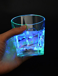 Water Pressure Induction Flash Cup LED Light Colorful,Plastic