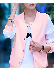 Women's Blue/Pink Jackets , Casual Long Sleeve