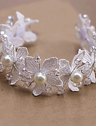 Women's Lace/Pearl Headpiece - Wedding/Special Occasion Tiaras 1 Piece