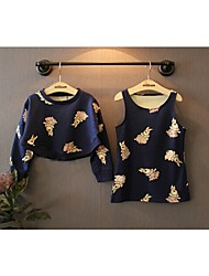 BONITO Lovely Rabbit Hoodie and Jumper Skirt Suit