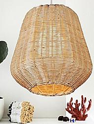 Lampade a sospensione Original-Legno Colore Cane Hand-Woven Moderna Paese