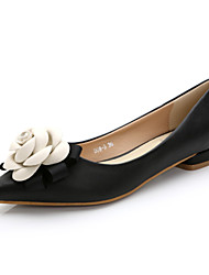 Women's Flats Spring / Summer / Fall Comfort / Pointed Toe / Closed Toe  Casual Flat Heel Flower  Walking