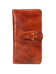Men's Leather Fashion Multifunctional Long Wallet