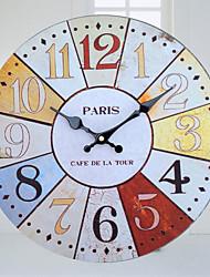 Reloj de pared - Madera - Retro - Madera