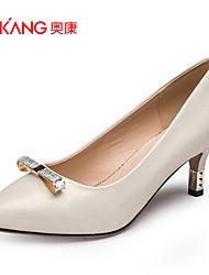 Zapatos de mujer Cuero Sintético Tacón Stiletto Tacones/Comfort/Puntiagudos/Punta Cerrada TaconesBoda/Exterior/Oficina y