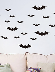 Halloween bat pvc stickers muraux stickers muraux