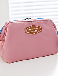 Women Professioanl Make Up Use Canvas/Nylon Zipper Clutch/Cosmetic Bag