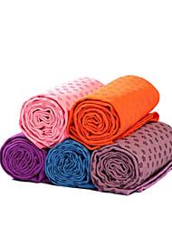 antidérapants serviettes de tapis de yoga couleur aléatoire