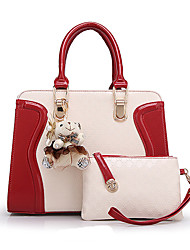 Lady Women Work/Casual Leather PU/Leather)