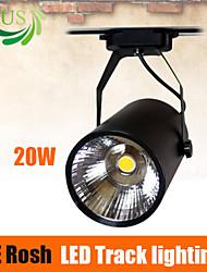 opus 20w cob led-verlichting spoor zwarte kleur leidde het bijhouden van licht van hoge kwaliteit assurance