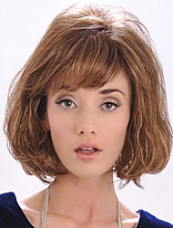 European and American Fashion Must-Have Girl Brown High Quality Wig