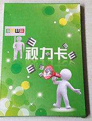 Removable Mixed Materials Vision card