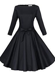 VOIN    Women's Dresses , Cotton Vintage/Party VOIN