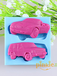Car Shaped Fondant Cake Chocolate Silicone Molds,Decoration Tools Bakeware