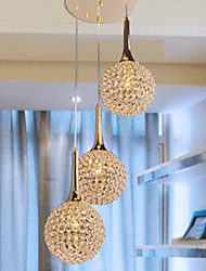 LED Modern Crystal Chandelier Dish
