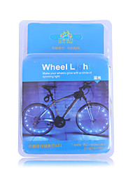 Leadbike 20LED 2Meters USB Rechargalbe LED Wheel Light/ Spoke Light/Safety Lights/LED Light Bulbs/Flashlights