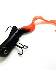 """1 pcs Leurre souple Fretin leurres de pêche Leurre souple Fretin Violet 45 g Once mm/8-1/4"""" pouce,Plastique souple Métal SiliconePêche"""