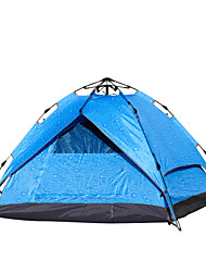Tripolar,3-4 Person Outdoor Waterproof Rainproof Camping Tent Automatic Opening Family Tent #FA2817X