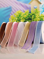 "1""(25mm) Gorgeous Organza Ribbon (more colors)"