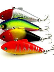 """4pcs pcs Vibration Verschiedene Farben 11.2g g/3/8 Unze,85mm mm/3-5/16"""" Zoll,Kunststoff Spinnfischen"""