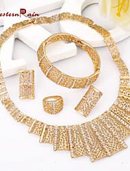 WesternRain Fashion Cute/Party/New Arrival Elegant Charms Fashion Dubai 2015 Gold Plated Vintage Women