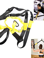 Fitness Exercise Honestore Portable Suspension Trainer Resistance Bands Gym Strength Training Straps Belt Hanging