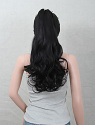 Excellent Quality Synthetic Clip In Ponytail  Long Curly Hairpiece