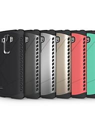 bouclier TPU&armure hybride pc étui de protection antichoc pour LG LS770 g4 stylet