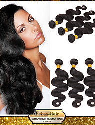 "8""-30"" Brazilian Virgin Hair Body Wave Human Hair Extensions 100% Unprocessed Brazilian Remy Hair Weaves"