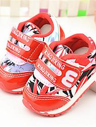 Baby Shoes - Casual - Sneakers alla moda - Seta - Blu / Rosso
