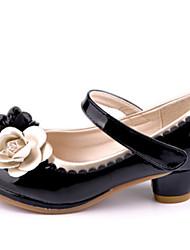 høje hæle ( Sort/Rosa ) - GIRL - Rund tå