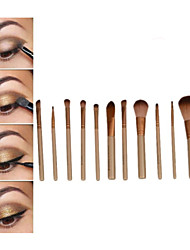 12 Pcs Cosmetic Makeup Brushes Set Eyeshadow Lip Brush for Girls