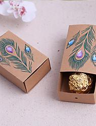 Bomboniere scatole - per Matrimonio Non personalizzato - di Carta