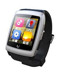 U watch U18 Wearables Smart Watch , Bluetooth4.0/WIFI / Hands-Free Calls/Media Control/Message Control/Camera Control