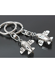 The Civil Aviation Aircraft Keychains Zinc Alloy Material