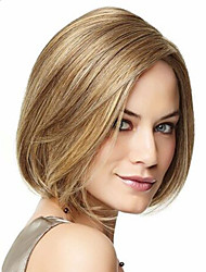 Europe And The United States  Sell Like Hot Cakes Golden Highlights Points BOBO Head Short Straight Hair Wigs