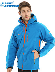 Mount Conquer Men's Outdoor Jacket Brand Hiking Jacket Softshell Jacket Windproof  Thermal  Camping Jacket