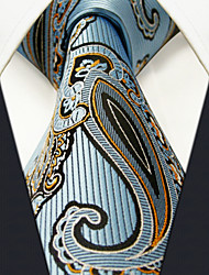 Men's Casual Paisley Laight Blue Ties