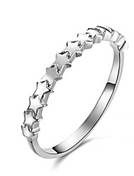 Cute/Party/Work/Casual Sterling Silver Band Ring