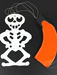 Halloween Paper Skeleton Parachute Hanging Wall Ceiling Decoration