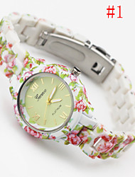 Woman GENEVA Fashion Small Steel Belt Wrist Watch Cool Watches Unique Watches