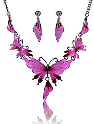 XU™ Women's Fashionable Joker Drip Butterfly Necklace Suits