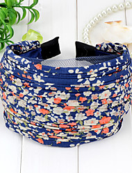 Sweet Style Flowers Cloth Hair Band(2 Color)(1Pc)